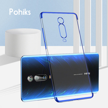 Series Phone Clear Soft Case For Xiaomi Redmi K20 pro  Protective Luxury Slim TPU Capa Cover 9 9T SE Fundas