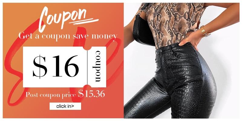 InstaHot Black High Waist Pencil Faux Leather Pants Women Casual Elegant Carving Print Ankle Length Pants Streetwear Trousers 15