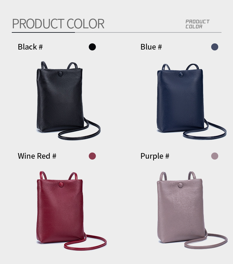 Genuine Leather Small Crossbody Bags for Women 2020 Fashion Bucket Bag Mori Girl Mini Shoulder Phone Bag Simple Leather Handbag