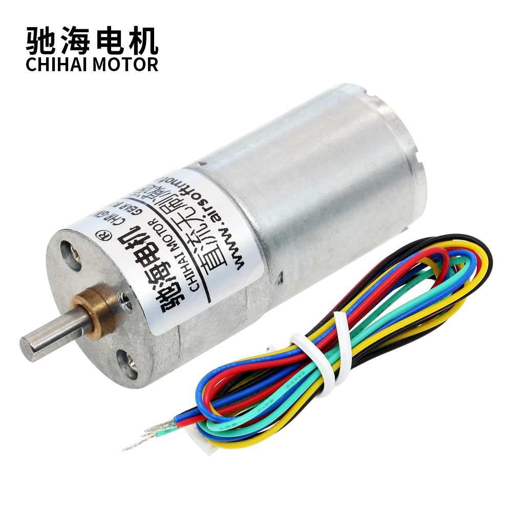 chihai <font><b>motor</b></font> CHR-GM25-BLDC2430 <font><b>25mm</b></font> micro DC <font><b>12V</b></font> 24V high torque Low speed Brushless <font><b>motor</b></font> image