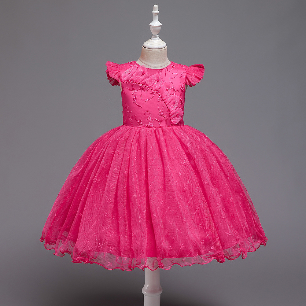 Childrenswear CHILDREN'S Dress Princess Tutu Girls Costume Girl Dress