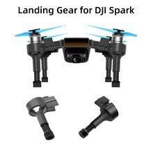 4pcs נחיתה לdji ניצוץ מהיר שחרור רגליים מגן גובה Extender עמיד הלם Stand רך אביב רגליים Drone אבזר