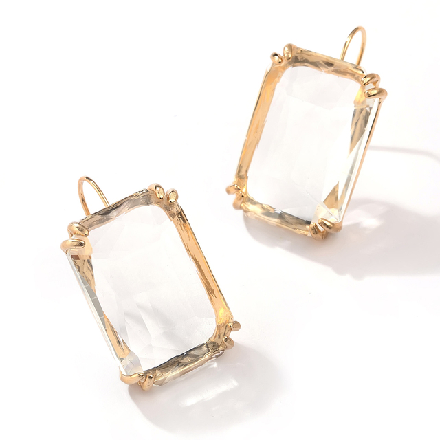 Transparent Resin Pendant Hanging Earring For Women Bohemia Trendy Geometric Square Acrylic Drop Dangle Earrings Wedding.jpg 640x640 - Transparent Resin Pendant Hanging Earring For Women Bohemia Trendy Geometric Square Acrylic Drop Dangle Earrings Wedding Jewelry