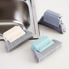 Cepillo de limpieza de surcos, cepillo de limpieza de ventanas mágico, limpieza rápida de todas las esquinas y huecos, 2020