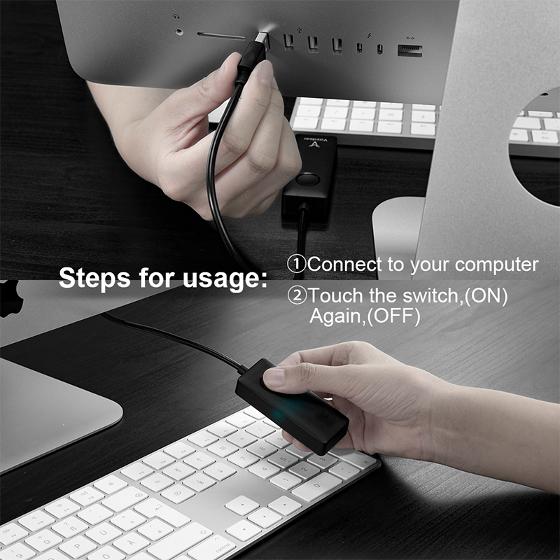 Simulate Mouse Movement Drive-free USB Computer Automatic Mouse Mover Mouse Jiggler