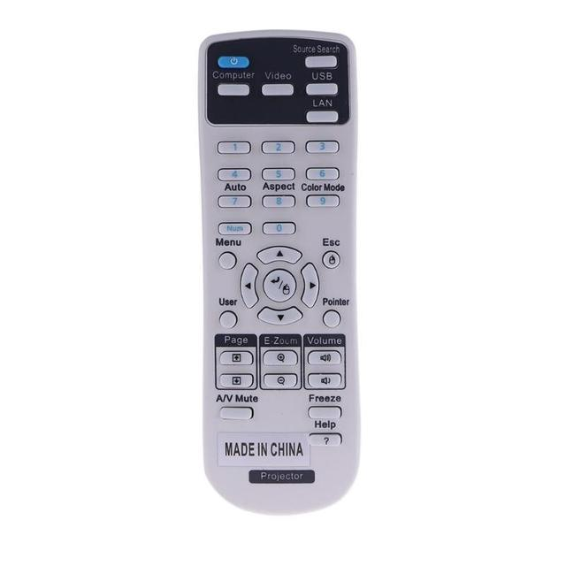 Remote Control for EPSON 1599176 Projector Fernbedienung Remote Contron Controller EX3220 EX5220 EX5230 EX6220 EX7220 725HD