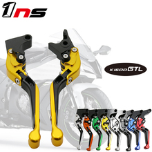 CNC aluminum Motorcycle Accessories Folding adjustable brake clutch handle For BMW K1600 GT/GTL K 1600 GT/GTL  2011-2016