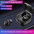 IPX5 Bluetooth Беспроводной наушники 3D стерео звук наушники с зарядным устройством Водонепроницаемый спортивный наушник долго Срок службы батар...