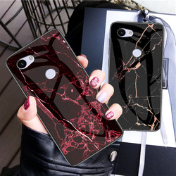 На Алиэкспресс купить стекло для смартфона luxury marble silicon patterned tempered glass phone case for google pixel 3a xl soft protective shockproof cover case fundas