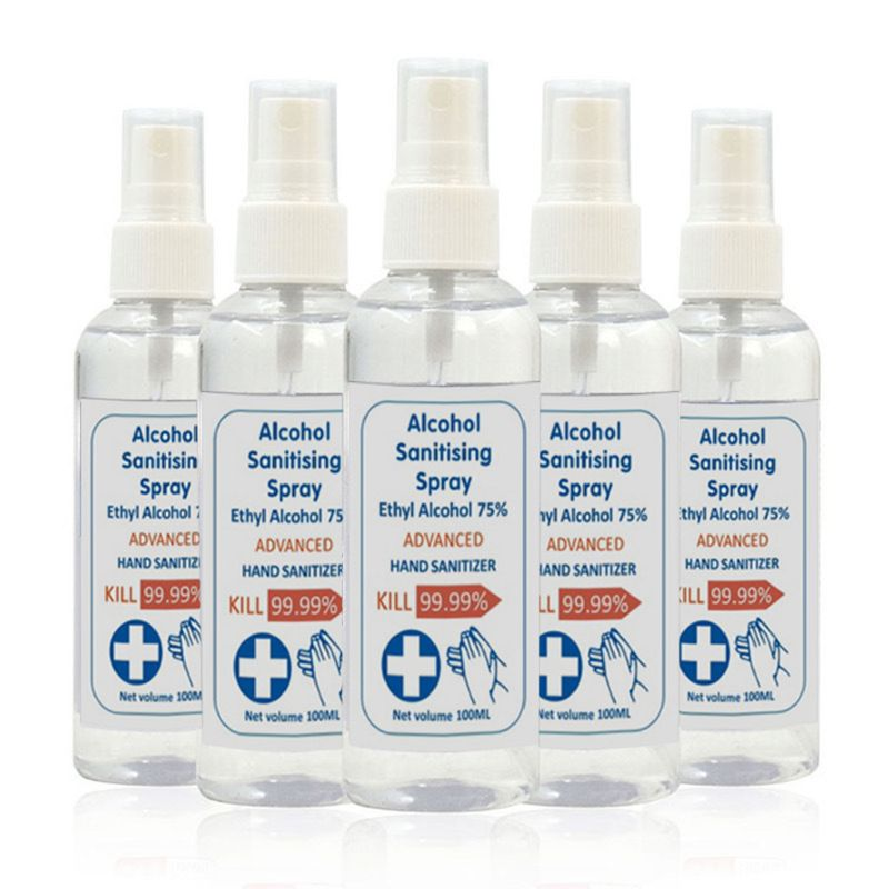 100ml Disinfection Spray Efficient Sterilization Sanitizing Cleaning Wash Free First-Aid Antibacterial Liquid Hand Soap