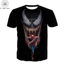 Spider-man boys T-shirt superhero 3D kids T-shirt fashion boys and girls casual sports T-shirt summer round collar T-shirt marvel comics ant man logo mens black t shirt superhero antman print t shirt men summer style fashion top tee
