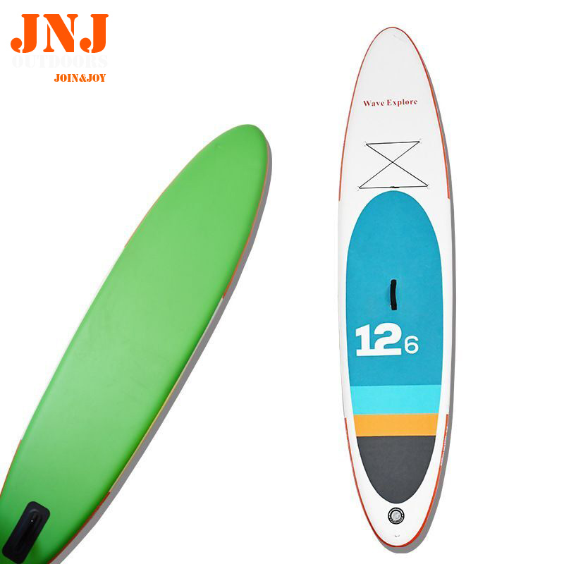 12'6 inflatable sup board isup with bags and accessories|Surfing|Sports & Entertainment - title=