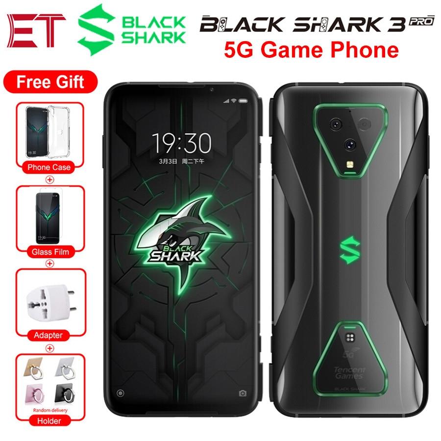 5G Phone Global Version Xiaomi Black Shark 3 Pro Game Mobile Phone 7.1