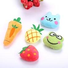 1 шт игрушки для кошек мята фрукты Серия животных мягкие плюшевые