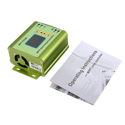 LCD MPPT Regulator słoneczny kontroler ładowania 24/36/48/60/72V zwiększyć MPT-7210A Regulator słoneczny OCDAY