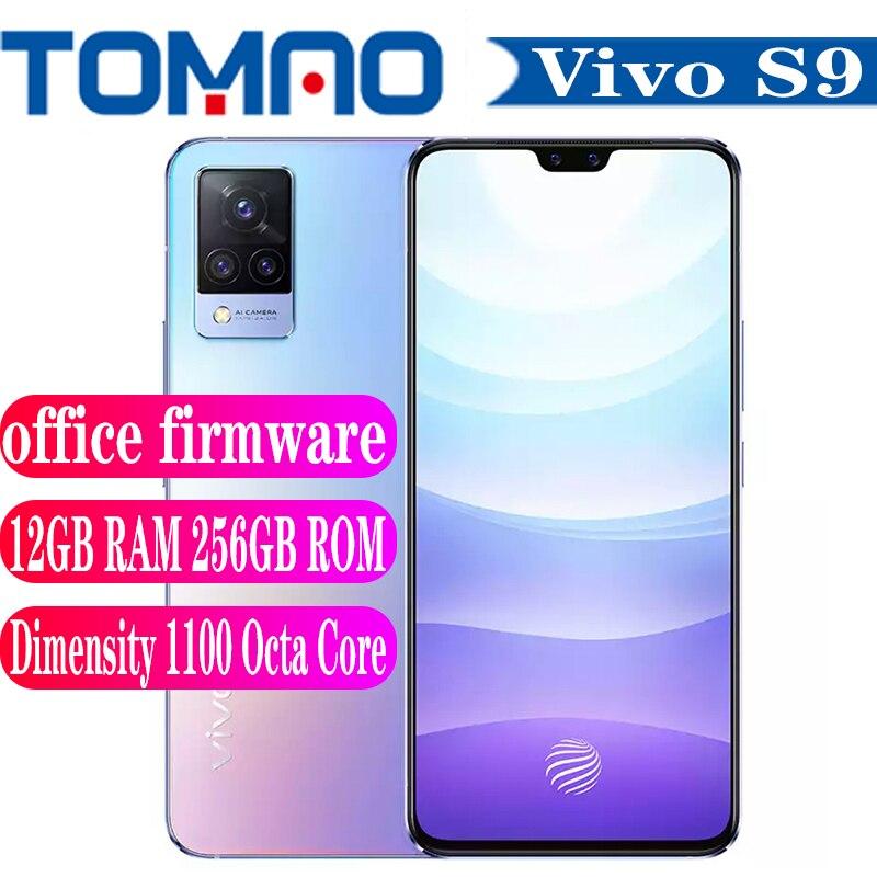 Neue Vivo S9 5G SmartPhone 90Hz 8GB 12GB RAM 128GB 256GB ROM Dimensity 1100 4000mAh Batterie 33W Android 11 AMOLED NFC Google spielen