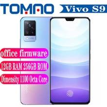 Nowy smartfon Vivo S9 5G 90Hz 8GB 12GB RAM 128GB 256GB ROM Dimensity 1100 4000mAh bateria 33W Android 11 AMOLED NFC Google play
