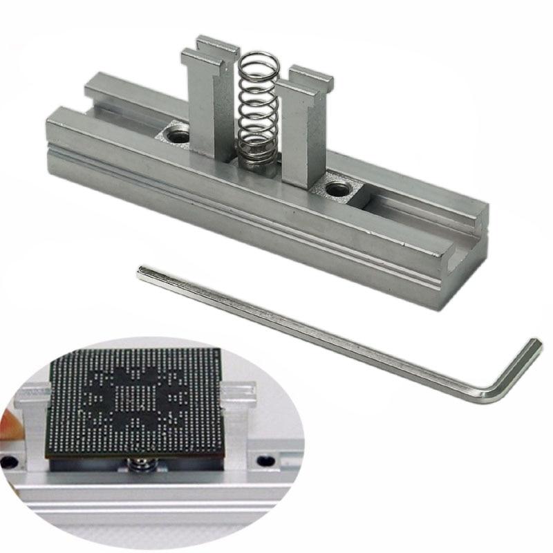29pcs Universal Direct Heating BGA Stencils Templates + Reballing Jig For Bga Chip Rework Repair Soldering Kit