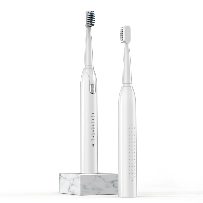 Electric Toothbrush S802 Waterproof Automatic Sonic ToothBrush Rechargeable 5 Models with 2 Brush Heads