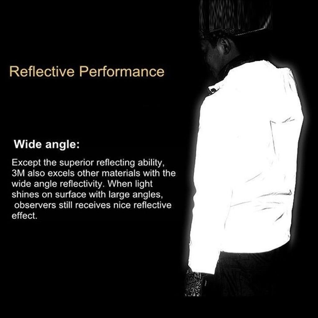 Hip Hop Reflective Noctilucent Hooded Jacket 2019 New Running Sporting Mens Light Jackets Coats Waterproof Coat Outwear 7.24 3