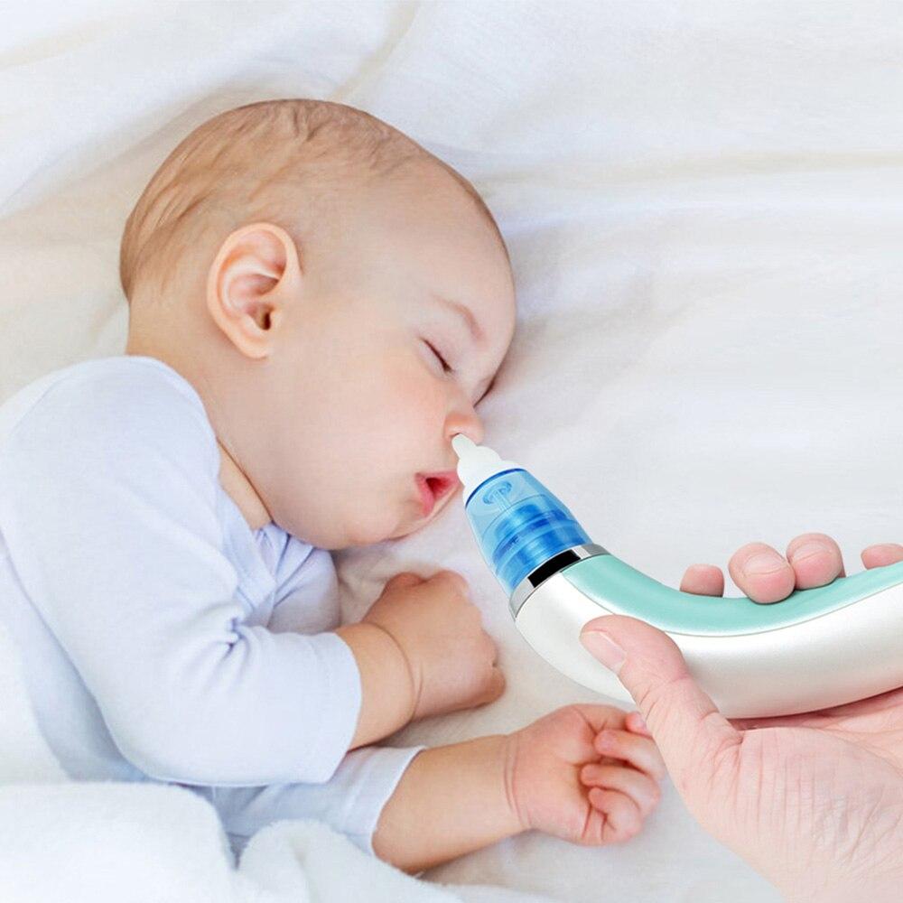 2 In 1 Electric Baby Nasal Aspirator Blackhead Remover Machine Detachable Blackhead Instrument Comfortable Safe Nose Cleaner