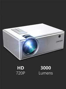 CRENOVA 2019 Лучшая Продажа Android видео проектор C8 1280*720P родное разрешение с Wi-Fi Bluetooth домашний кинотеатр кинопроектор