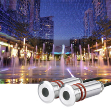 LED Mini Underwater Light Pool Lights Stainless Steel LED Fountain Lamps 12V24V Landscape Spotlight Small 1W Square Buried Lamp