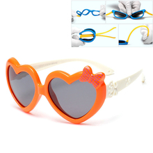 Heart Sunglasses Shades Children Girls UV400 for Boys And Kids Lovely
