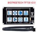 Kontroler wyświetlacza drukarki 3d BIGTREETECH TFT35 ekran dotykowy V2.0 TFT 3.5 calowy panel dotykowy lcd monitor + PLA włókno abs czujnik
