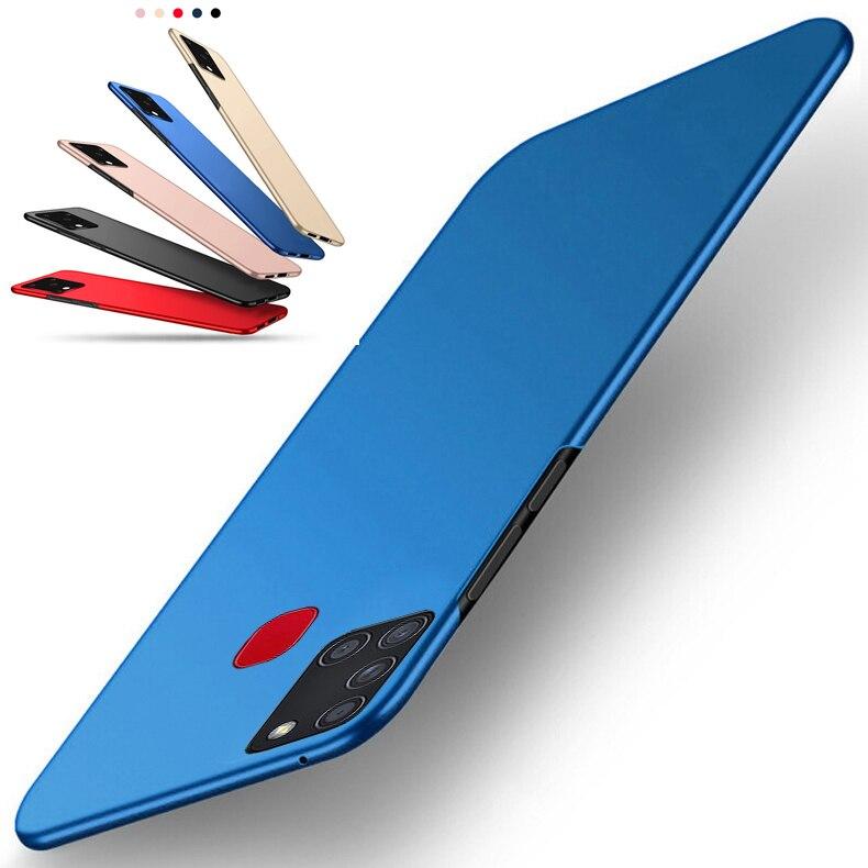 Matte Case For Samsung Galaxy A71 A11 M21 M11 M31 S10 Lite S20 A01 A21S A31 A41 A51 Ultra Thin Full Coverage Hard PC Cover