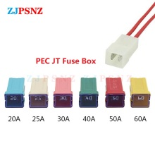 Fuse-Tube Socket-Optional Waterproof Square Insurance Auto 40A 20A 50A 60A 30A with