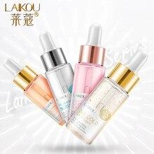 LAIKOU Serum Japan Sakura Essence Anti-Aging Hyaluronic Acid Pure 24K Gold Whitening Vitamin C Anti Wrinkle Face Serum Care Skin
