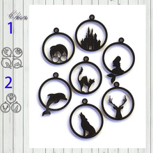 Metal Cutting Stencils Dies Paper-Cards Decorative Dolphin Embossing Scrapbooking-Stamp/photo-Album