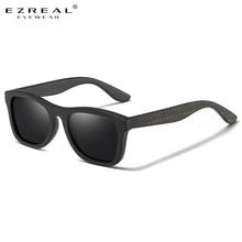 EZREAL Best Handmade Sunglasses Men Polarized  Bamboo Wood Women Sunglasses High Quality With Sunglasses 1610X