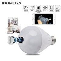 INQMEGA 960P Wifi камера IP 360 Лампа безопасности панорамная лампа CCTV видеонаблюдение рыбий глаз HD ночное видение Коридор светильник Cam