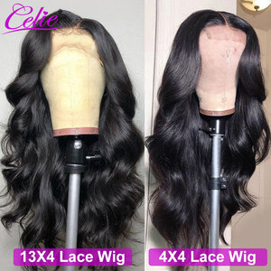 Image 4 - Celie Hair 4x4 6x6 Closure Wig Body Wave Human Hair Wigs For Black Women 13x6 Lace Front Human Hair Wig Body Wave Lace Front Wig