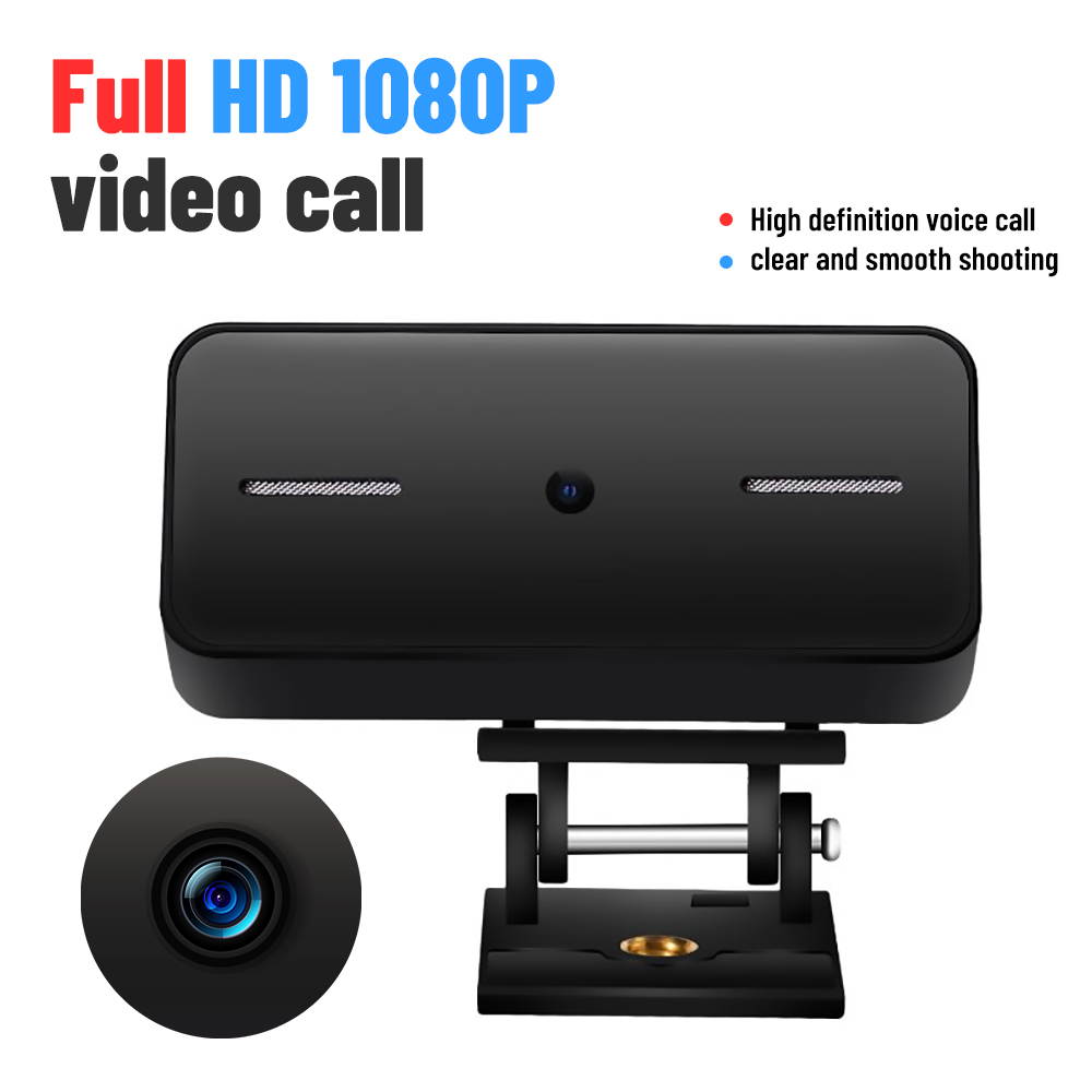 Full HD Webcam 1080p Auto Focus USB Streaming Webcam, Computer Laptop Camera With Microphone Digital USB Video Recorde
