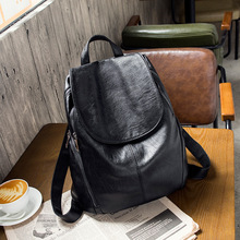 High Quality PU Leather Backpack Women Waterproof Travel Backpacks Fashion Large Capacity School Bags Women School Backpack dicool high quality pu leather backpack school travel bag backpack women famous brands backpack bolsos mujer vintage backpacks page 5