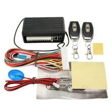 Sistemi di allarme per Auto Kit telecomando centrale automatico chiusura centralizzata a distanza sistema di accesso senza chiave chiusura centralizzata/sblocco