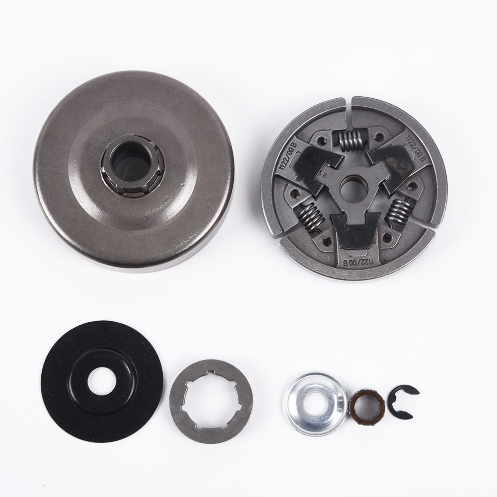 Clutch Drum Rim Sprocket Set For Stihl MS660 066 064 MS640 MS661 Chain Saw Clutch Assembly Cover Washer