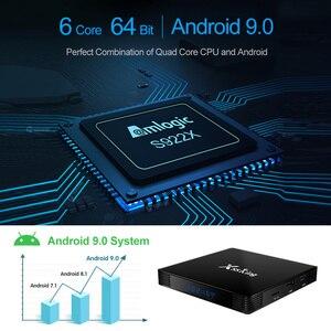 Image 5 - X88 rei 4gb 128g amlogic s922x caixa de tv android 9.0 duplo wifi bt5.0 1000m 4k googleplay loja youtube 4k conjunto caixa superior media player