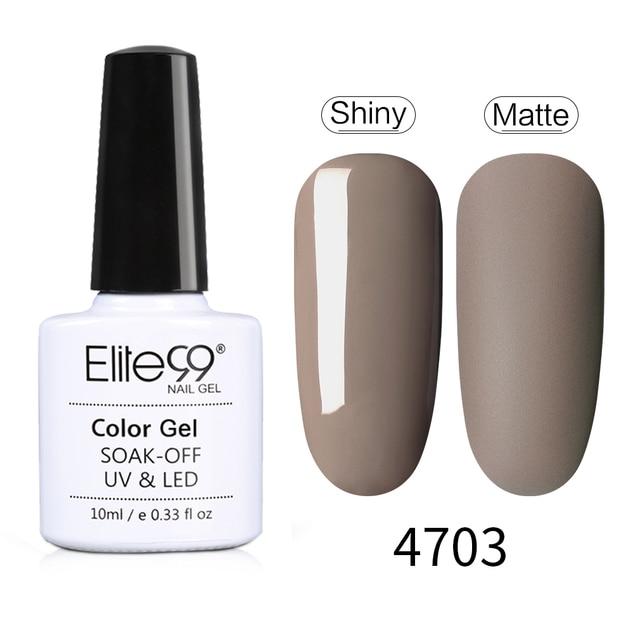 Elite99 Nail art Macchiato UV Nagel Gel Tränken Weg Matte Top Basis Mantel UV LED Nagel Lack Primer Polnisch salon Maniküre 10ML