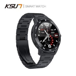 Image 3 - KSR909 Smart Watch Full Screen Touch IP68 Waterproof ECG Detection Changeable Dials Smartwatch Fitness Tracker Smart Bracelet