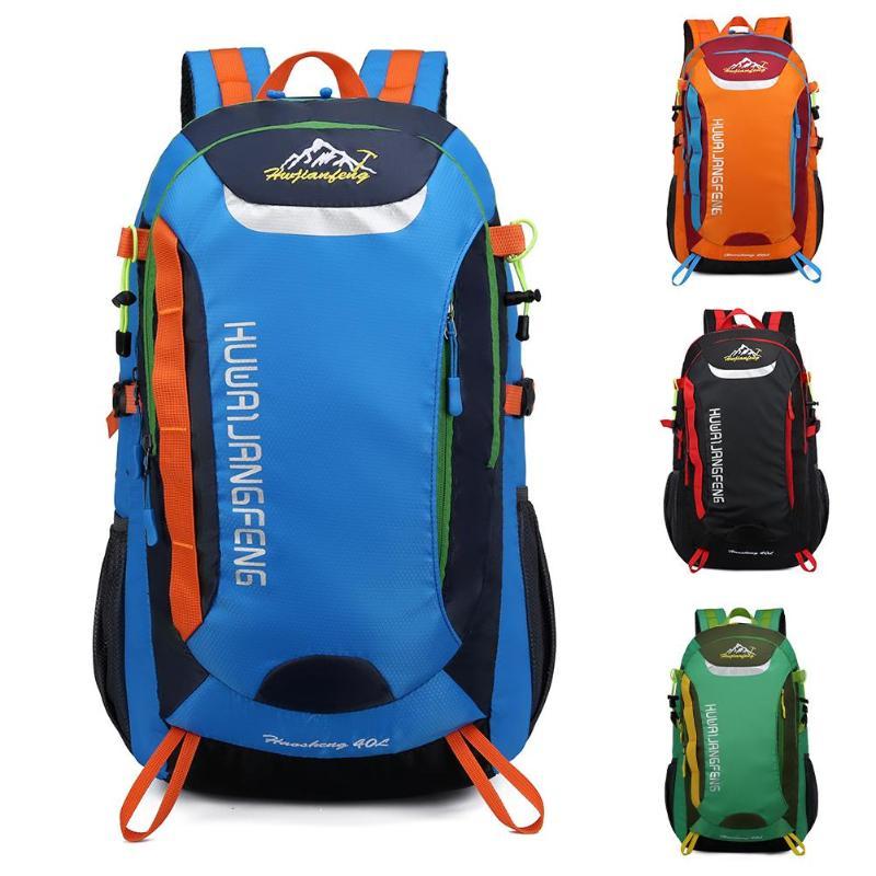 Водонепроницаемый Открытый рюкзак; спортивная сумка 40L большой емкости износостойкая походная сумка для альпинизма треккинга кемпинга Пря...