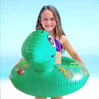 0-5 años, flotador accesorios piscina flotadores para niños nadar anillo bebé baño nadar flotante niños juguetes de verano recién nacido