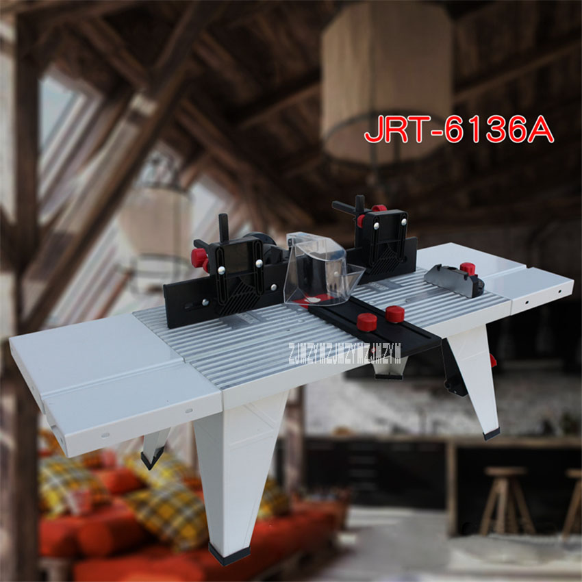 JRT-6136A Multifunctional Engraving Machine Wood Workbench Electromechanical Wood Milling / Flip-chip Workbench 220V/110V 1.5KW