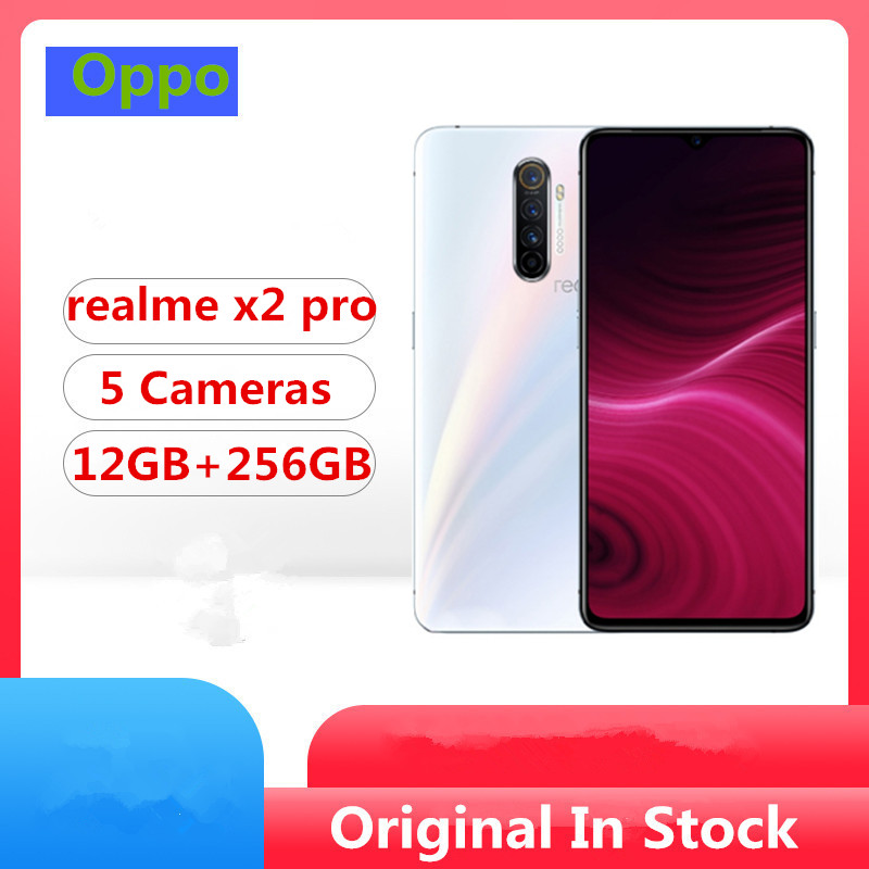 "Stock Newmodel Realme X2 Pro Smart Phone Snapdragon 855 Plus Android 9.0 6.5"" 90HZ 12GB RAM 256GB ROM 64.0MP 50W Super VOOC(China)"