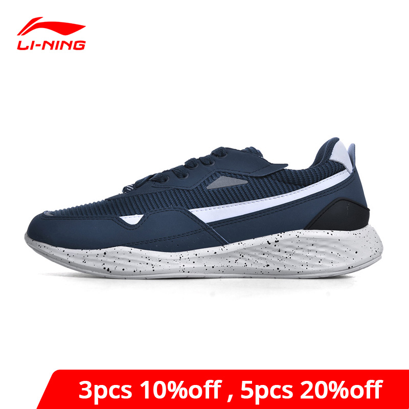 Li-Ning Men Sports Life Lifestyle Shoes Wearable Jogging Sneakers Breathable LiNing Li Ning Comfort Sport Shoes GLKN017 YXB177