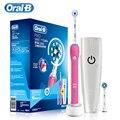 Oral B 3D Pro2000 Sonic Smart Elektrische Zahnbürste Druck Sensor Induktive Lade Zahnbürste und Geeignet Zahnbürste Köpfe-in Elektrische Zahnbürsten aus Haushaltsgeräte bei