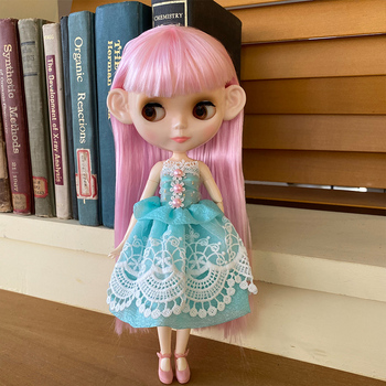 цена на Blyth Doll BJD, Neo Blyth Doll Nude Customized Frosted Face Dolls Can Changed Makeup and Dress DIY, 1/6 Ball Jointed Dolls SO16
